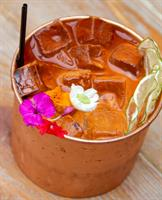 Summer Mule cocktail
