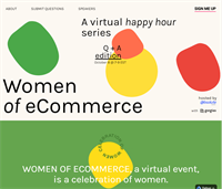 Women of eCommerce Virtual Happy Hour Q+A Session