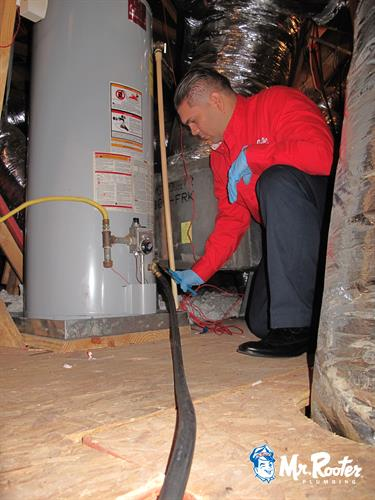 Did you know you should have your water heater drained and flushed annually to maintain your manufacturers warranty?