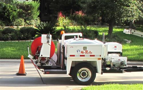 If you have a yard drain or sewer line stoppage, we can send our jetter team to your home to clean out the lines!