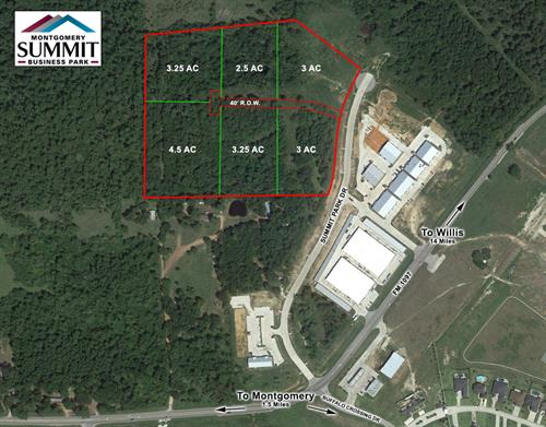 15543 Summit Park Dr - 23 Acre Tract with Potential to Sub-Divide, Montgomery, TX
