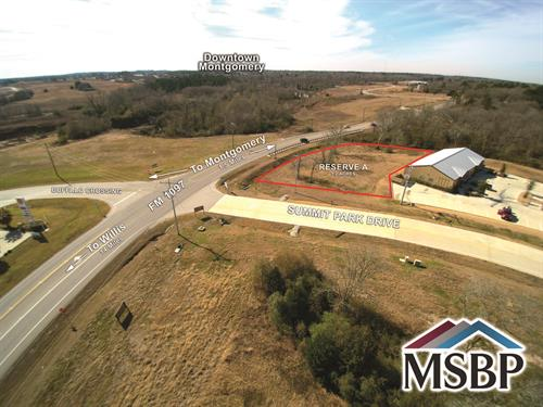 15349 Summit Park Dr - 1.2 Frontage Acres on FM 1097, Montgomery, TX