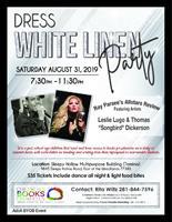 Dress White Event to benefit Children's Literacy