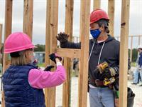 Help to Build the Walls of a Home at Market Street with Habitat MCTXea