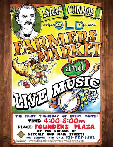 First Thursday Farmer's Market in Conroe