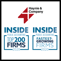 Haynie & Company: 2020 Top 200 Firm and 2020 Fastest-Growing Firm