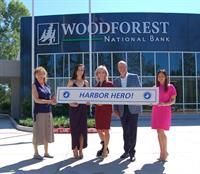 """Woodforest Charitable Foundation recognized  as """"The Harbor Hero"""" by Children's Safe Harbor"""