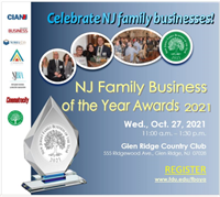 NOMINATE a deserving Family Business for the 29th Annual New Jersey Family Business of the Year Awards!