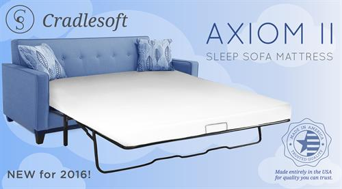 The Axiom II the BEST Foam Mattress available
