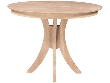 Round Laminate Table and Base