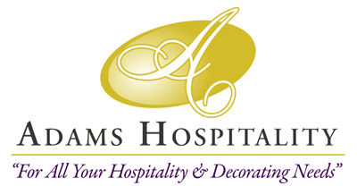 "Adams Hospitality LLC ""for all your product needs"""