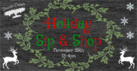 Holiday Sip & Shop at Jessie Creek Winery!