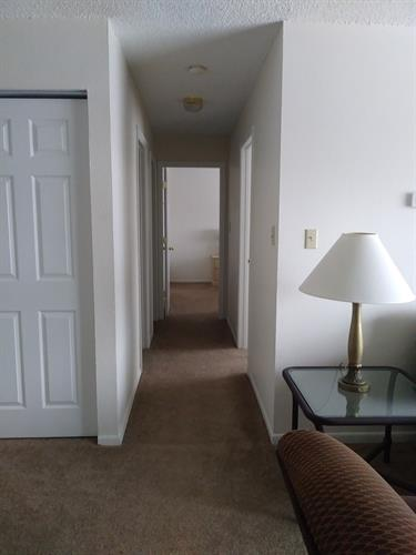 Hall in 2 bedroom