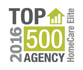 HomeCare Elite 2016 - Top 500 Home Healthcare Agency in the Country