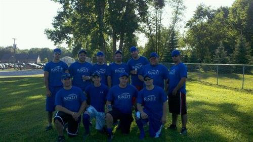 Kinzit Technologies Monroe Softball Team