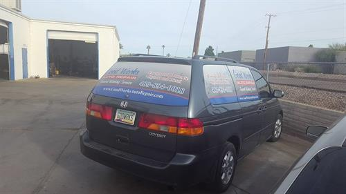 We offer a shuttle ride for your convenience as well as having rental cars on site