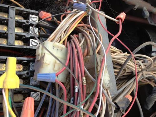 Oh Dear, wiring west unit Higley.