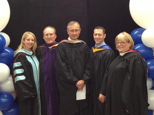 Bryan University Graduation Aug. 23, 2013