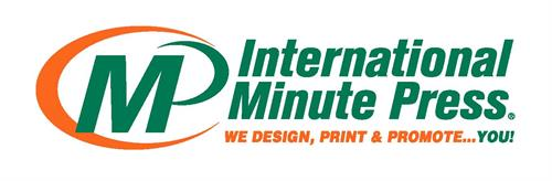 International Minute Press with Slogan