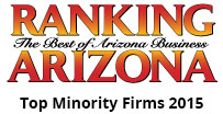 Ranking Arizona Top Minority Firms 2015