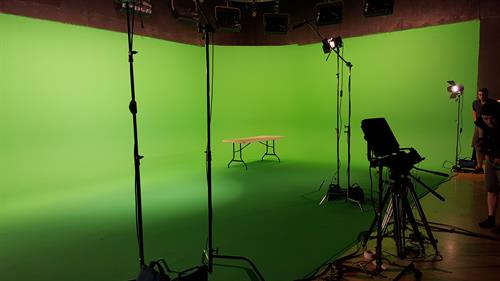 One of the largest green screens in Arizona