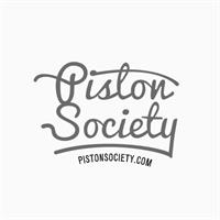 Piston Society Motorcycle Shop Logo