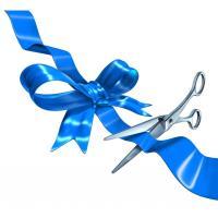 Ribbon Cutting - Marketplace Paints