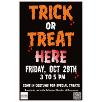 Trick or Treat with Arlington Businesses