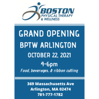Grand Opening and Ribbon Cutting at Boston Physical Therapy