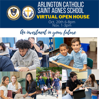 Arlington Catholic High School / Saint Agnes School Virtual Open House