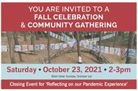 """Closing Event for """"Reflecting on our Pandemic Experience"""""""