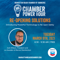 Chamber Power Hour: Re-Opening Solutions: Introducing Powerful Technology to Re-Open Safely