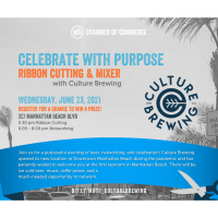 Celebrate with Purpose: Ribbon Cutting & Mixer with Culture Brewing