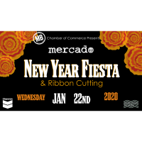 New Year Fiesta and Ribbon Cutting with Mercado