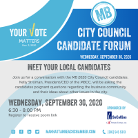 MB City Council Candidate Forum