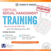Virtual Sexual Harassment Training #1