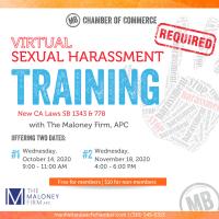 Sexual Harassment Training #5 (virtual)