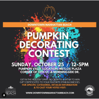 Downtown Manhattan Beach Pumpkin Decorating Contest