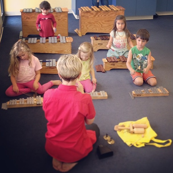 Ages 4 & 5 Young Musicians Make Music