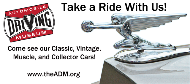 Join us on Sunday for rides in our collector cars!