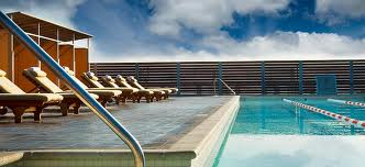 Our pool deck
