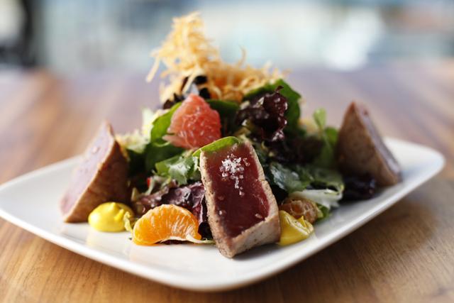 Citrus Ahi Tuna Salad