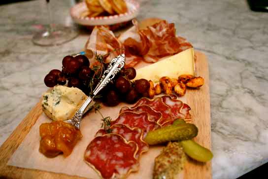 Barsha's Cheese & Charcuterie Platter!