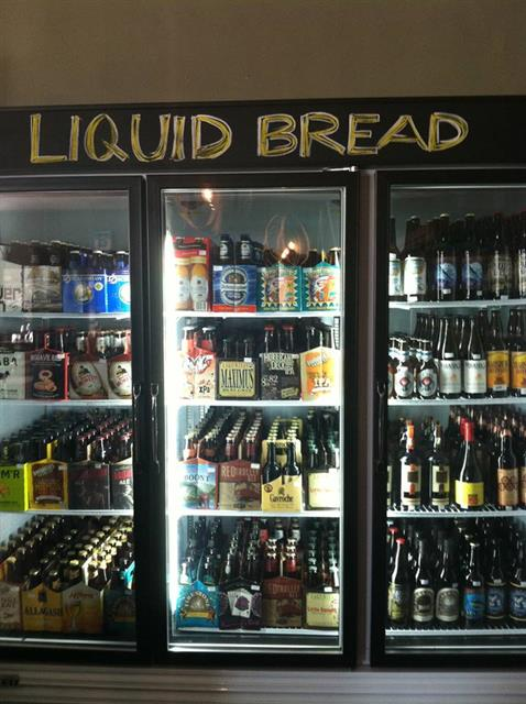 Liquid Bread! Great Beer selection.