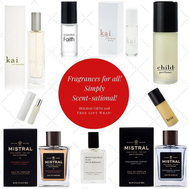 Favorite Fragrances for everyone on your list!