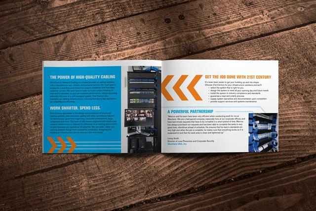 21st Century Network Cabling Brochure - inside 1
