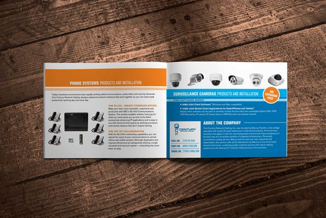 21st Century Network Cabling Brochure - Inside 2
