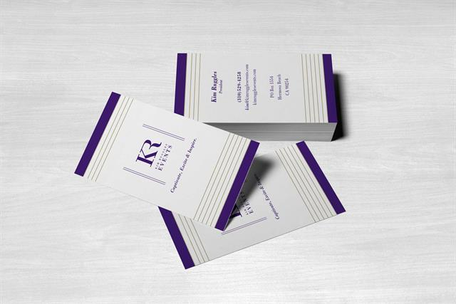 Kim Ruggles Events - Business Cards