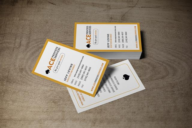 ACE Process Service - Business Cards