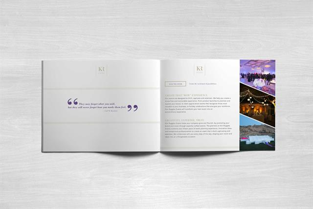 Kim Ruggles Events - Press Brochure - inside 1
